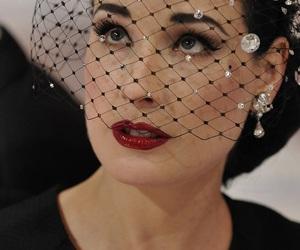 Dita von Teese, lipstick, and red image