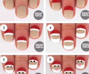 christmas, diy, and nails image