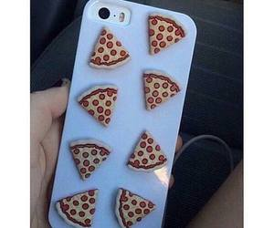 pizza, iphone, and case image