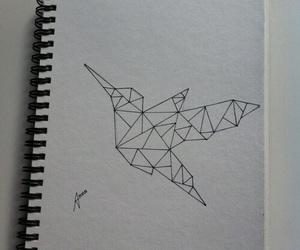 bird, animal, and art image