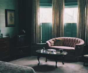 room, vintage, and interior image