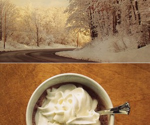 coffee, cold, and winter image