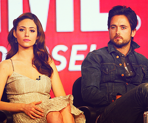 emmy rossum and justin chatwin image