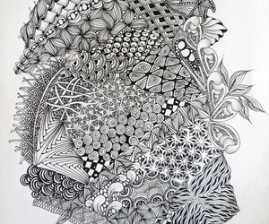 art, doodle, and pattern image