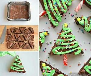 brownies and christmas image