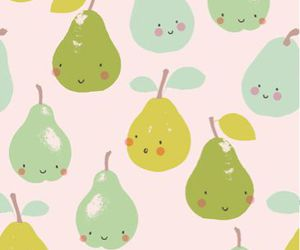pear, cute, and pattern image