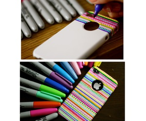case, colours, and Moschino image