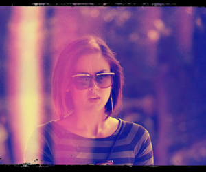 90210, girl, and glasses image