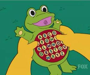 the simpsons and phonic frog image