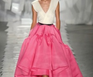 dress, fashion, and catwalk image