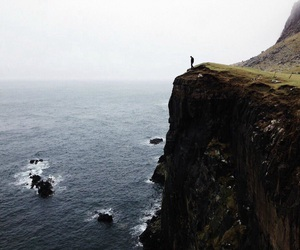 adventure, beautiful, and cliff image