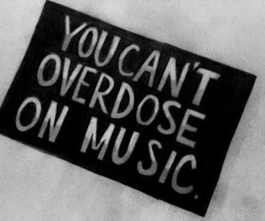 music, overdose, and quotes image