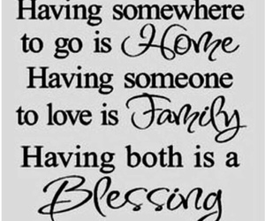 blessing, family, and quote image