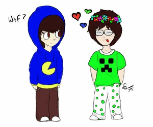 drawn, cute, and mitw image