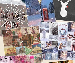 collage winter cute image