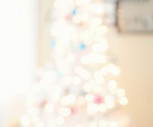 christmas, white, and lights image