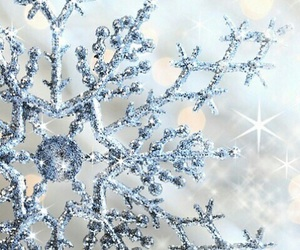 winter, snowflake, and snow image