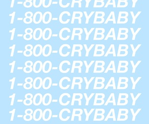 blue, crybaby, and grunge image