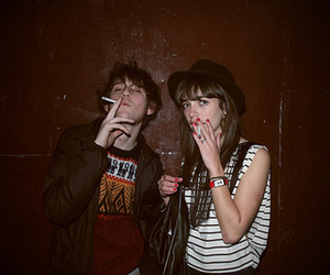 party and smoking image