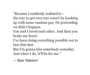 blair waldorf, guy, and quote image