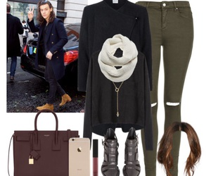 black, maroon, and Polyvore image