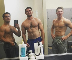 attractive, guys, and hot guy image