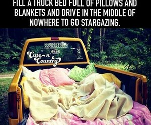 blanket, stars, and truck image