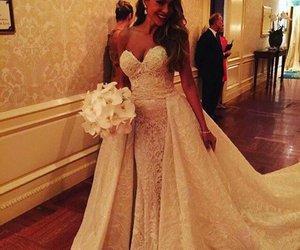 wedding, sofia vergara, and white image