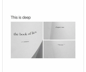 love, quote, and deep image