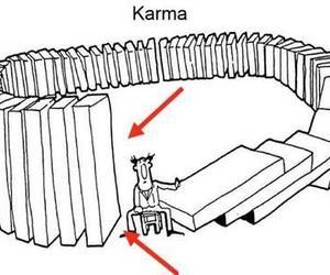 karma and funny image