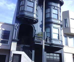 black, house, and sanfrancisco image