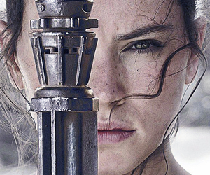 star wars, rey, and the force awakens image