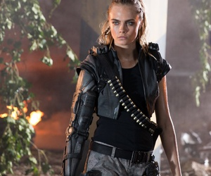 cara delevingne, model, and call of duty image