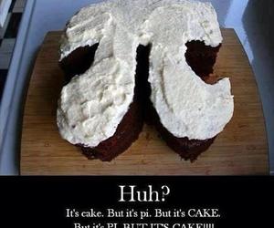 cake, pi, and lol image