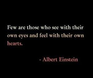quote, Albert Einstein, and text image