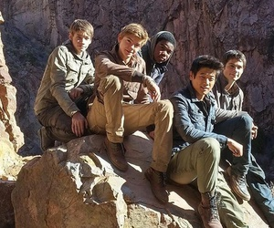 dylan o'brien, ki hong lee, and newt image
