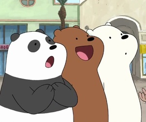 panda, cute, and grizzly image