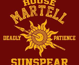 game of thrones, got, and martell image