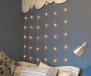 light, stars, and room image