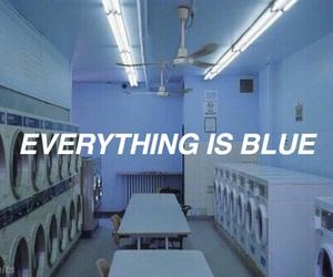 blue, halsey, and Lyrics image