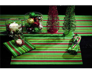 table runner, christmas decoration, and christmas ideas image