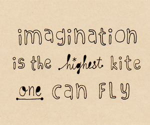 imagination, quote, and fly image