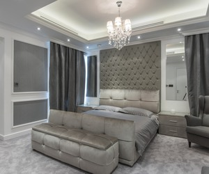 bed, dream home, and Dubai image