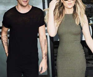 louis tomlinson, perrie edwards, and little mix image