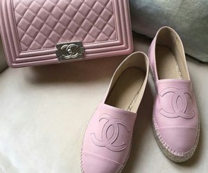shoes, chanel, and pink image