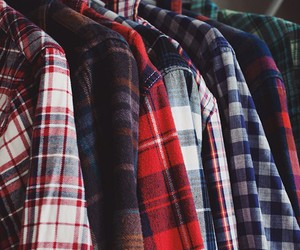flannel and shirt image