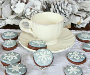 cakes, christmas, and cup image