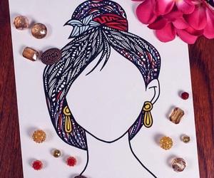 mulan, drawing, and art image