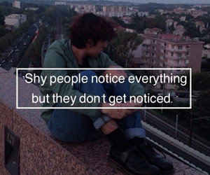 quotes, shy, and grunge image