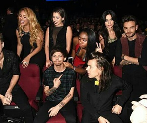 one direction, fifth harmony, and louis tomlinson image